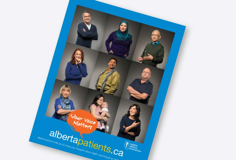 Alberta Patients Print Design