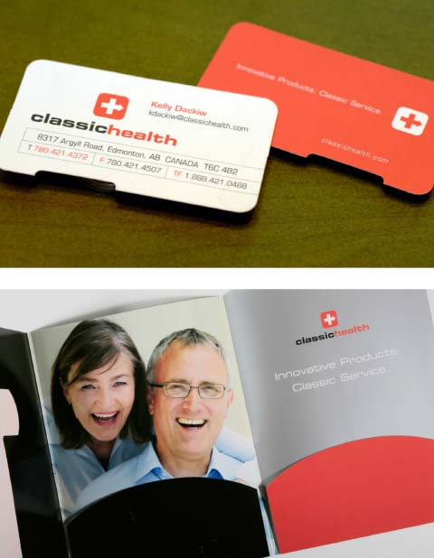 Classic Health Supplies Ltd Business Card