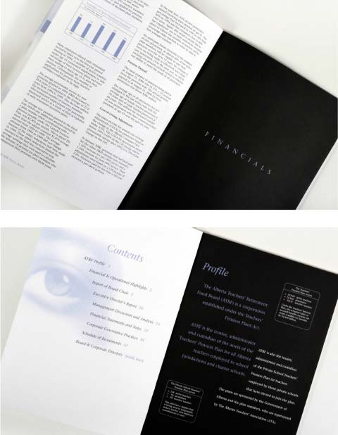 ATRF Annual Report Design