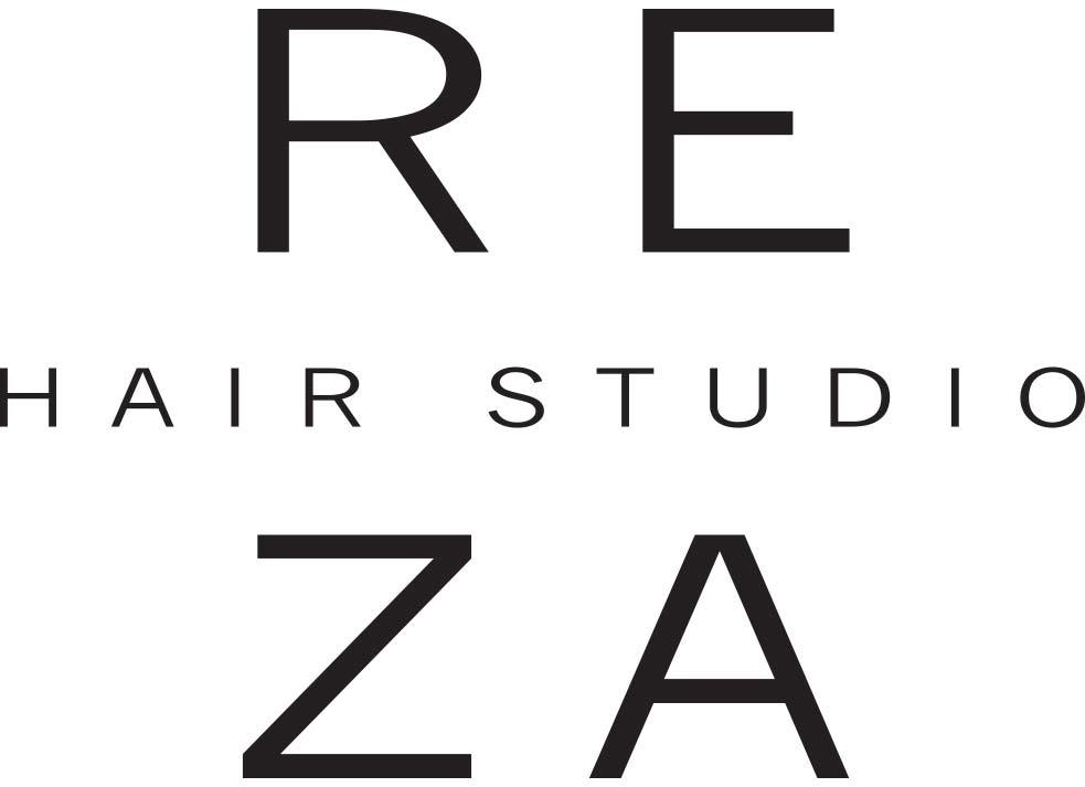 Reza Hair Studio Logo Design